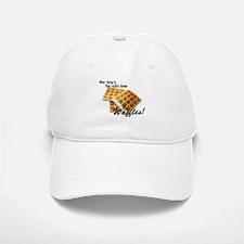 Waffles Baseball Baseball Cap