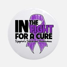 Cure Sjogrens Syndrome Ornament (Round)