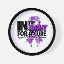 Cure Sjogrens Syndrome Wall Clock