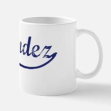 Hernandez - vintage (blue) Mug