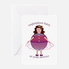 Sugarplum Fairy Greeting Cards