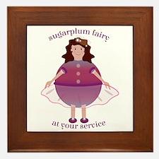 Sugarplum Fairy Framed Tile