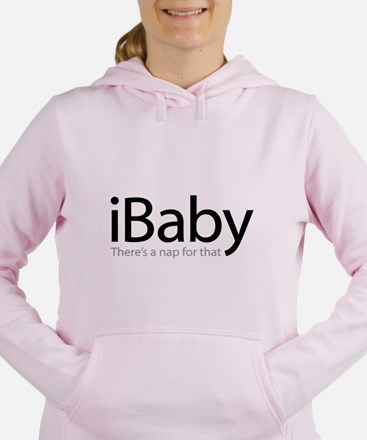 iBaby - There's a Nap Fo Women's Hooded Sweatshirt
