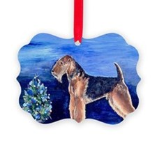 Airedale Terrier Dog Christmas Ornament