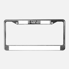 Unique Hopping License Plate Frame