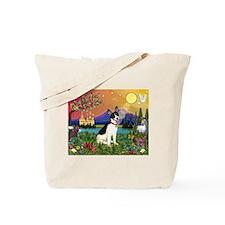 Fantasy Land & Rat Terrier Tote Bag