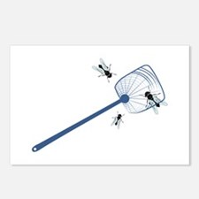 Fly Swatter Postcards (Package of 8)