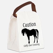 ceffyl dwr.png Canvas Lunch Bag