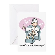 Cute Therapy humor Greeting Card