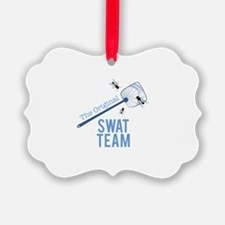 Swat Team Ornament
