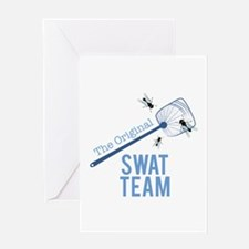 Swat Team Greeting Cards