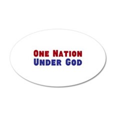 One Nation Under God Wall Decal