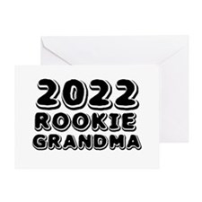 2015 Rookie Grandma Greeting Card