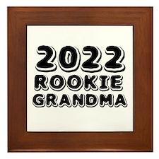 2015 Rookie Grandma Framed Tile