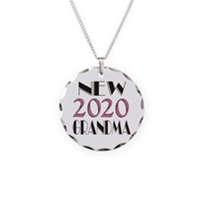 2015 New Grandma Necklace Circle Charm