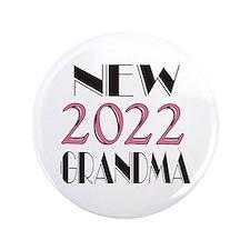 """2015 New Grandma 3.5"""" Button"""