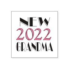"2015 New Grandma Square Sticker 3"" x 3"""