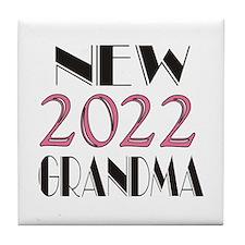 2015 New Grandma Tile Coaster