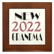2015 New Grandma Framed Tile