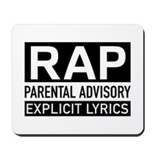 Rap Mousepad