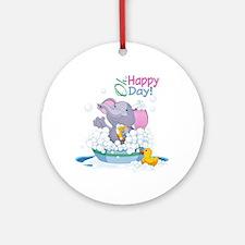Happy Day- Ornament (Round)