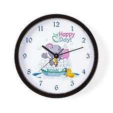 Happy Day- Wall Clock