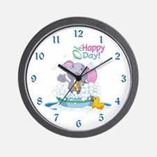 Happy Day- Wall Clock