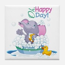 Happy Day- Tile Coaster