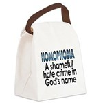 Homophobia, hate crime - Canvas Lunch Bag