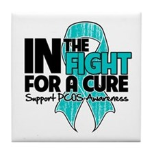 Cure PCOS Tile Coaster
