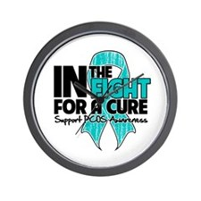 Cure PCOS Wall Clock