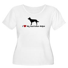 I Love My Australian Kelpie T-Shirt