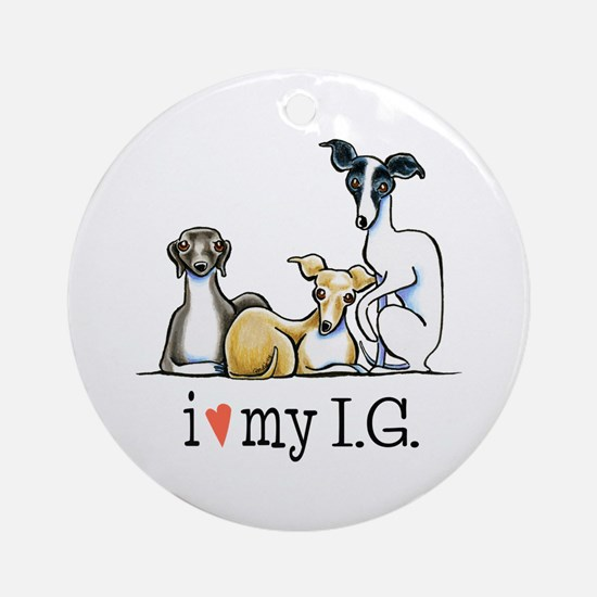 IG Lover Ornament (Round)