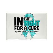 Cure Myasthenia Gravis Rectangle Magnet