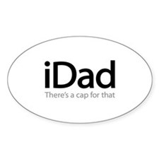 iDad - There's A Cap For That Decal