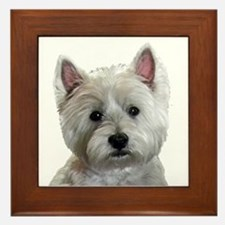 Cute Adorable Framed Tile