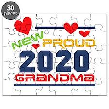 2015 Proud New Grandma Puzzle