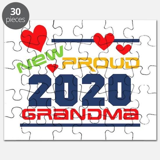 2017 Proud New Grandma Puzzle