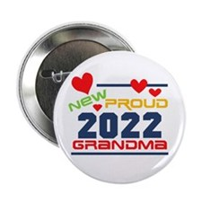 "2015 Proud New Grandma 2.25"" Button"