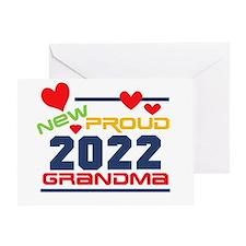 2015 Proud New Grandma Greeting Card