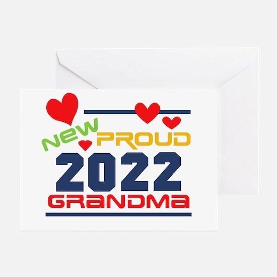 2017 Proud New Grandma Greeting Card