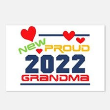 2017 Proud New Grandma Postcards (Package of 8)