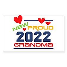 2015 Proud New Grandma Decal