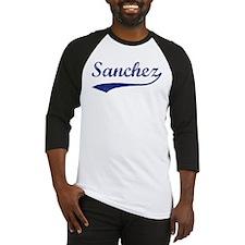 Sanchez - vintage (blue) Baseball Jersey