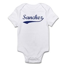 Sanchez - vintage (blue) Infant Bodysuit