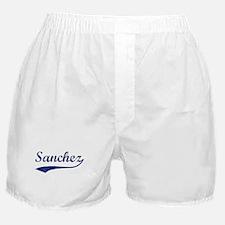 Sanchez - vintage (blue) Boxer Shorts