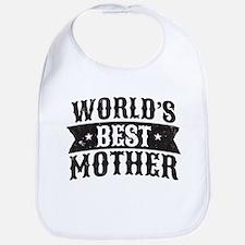 World's Best Mother Bib