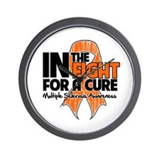 Cure Multiple Sclerosis Wall Clock