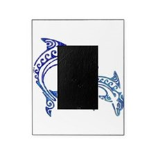 Tribal Tattoo Porpoise Duo Picture Frame