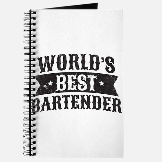 World's Best Bartender Journal